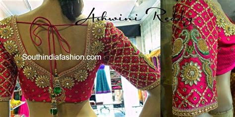 Top 10 Blouse Designs for Wedding Silk Sarees ? South