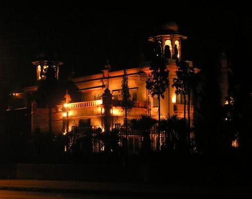 Peshawar Museum at nite