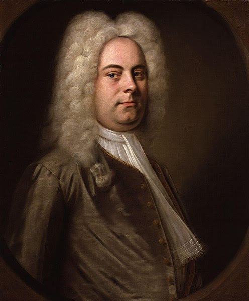 Portrait of George Frideric Handel by Balthasar Denner