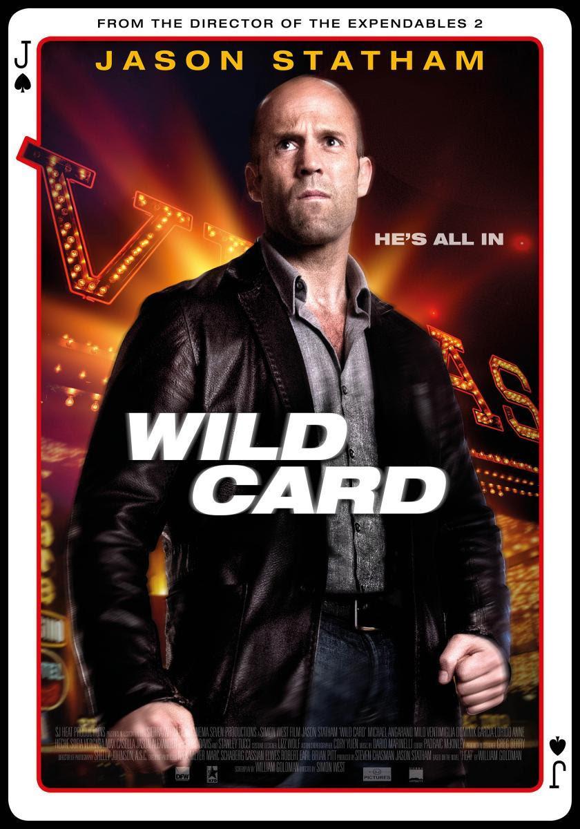 jugada salvaje, wild card, película, acción, cine, cartel,