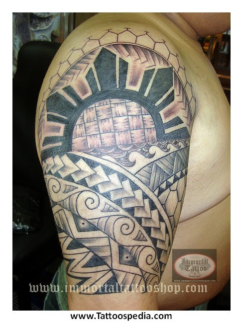 Filipino Tribal Tattoo For Men 7