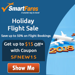 New Year Flight Offer. Get $15 Off with Coupon Code