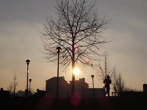 Tramonto invernale di Milano by Ylbert Durishti