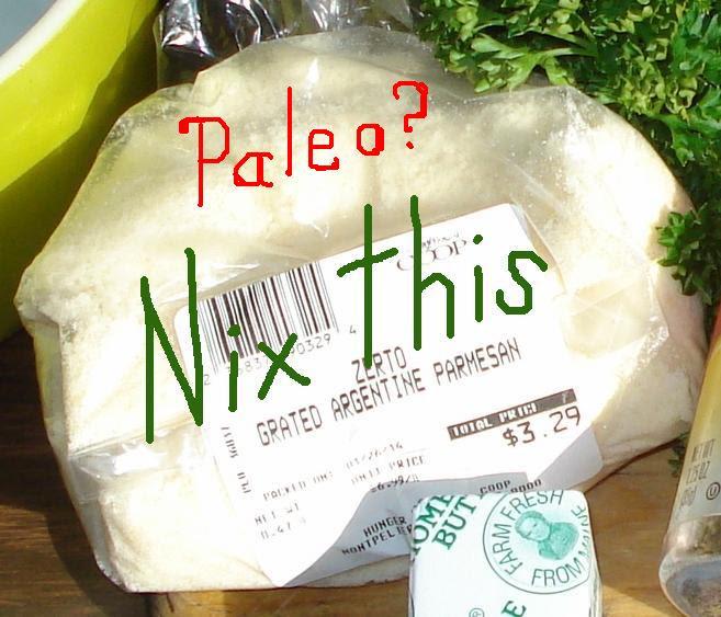 02 a Parmesan Cheese Paleo - Nix this