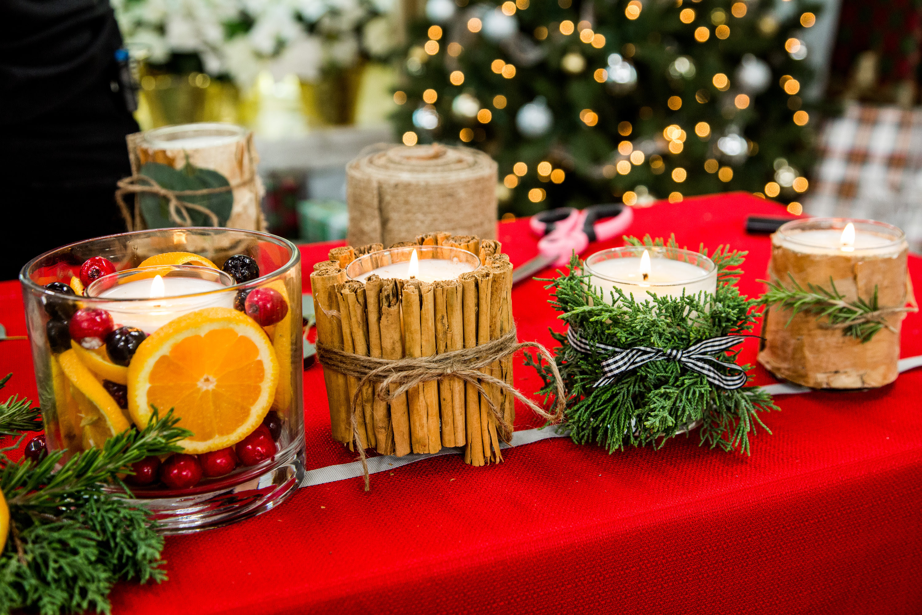 How To - DIY Christmas Candles | Hallmark Channel