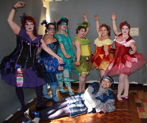 Ranbow clown posse