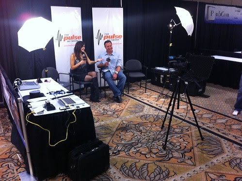 #thepulse network broadcasts live from #bwe10