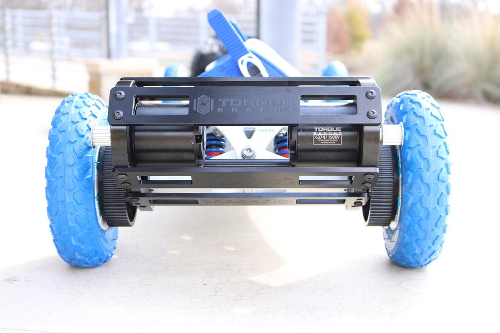 TORQUE Trampa Dual Motor Mount Kit \u2013 DIY Electric Skateboard