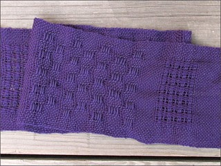Weaving Class: Lacy Scarf 1
