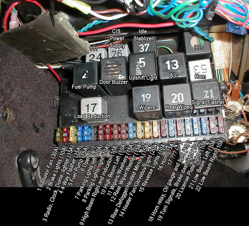 Fuse Box For Suzuki Swift Wiring Diagram