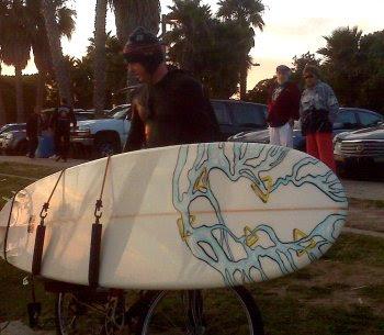 Bike surf rack 350px