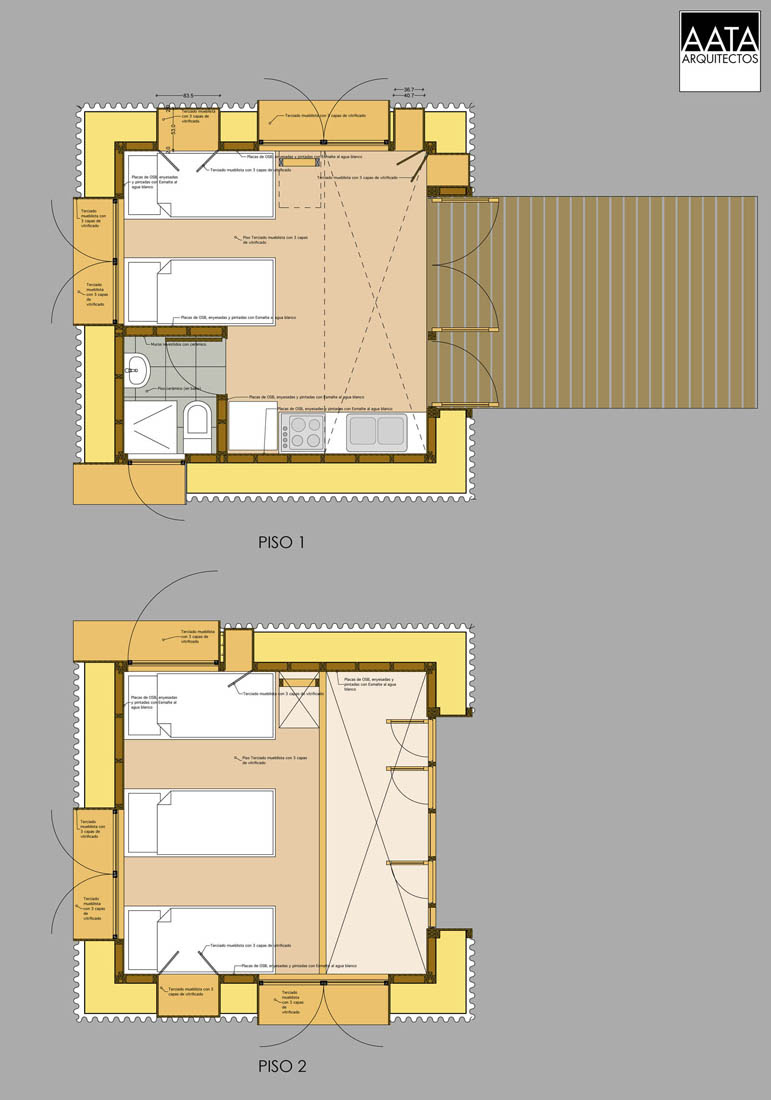 Guest-House, AATA-Associate-Architects, Cabin, Architecture, Design, House, Wood