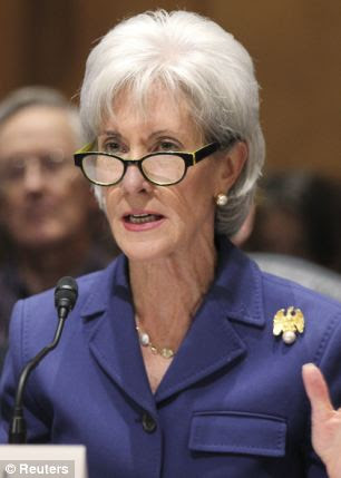 Exhibit A: Health and Human Services Secretary Kathleen Sebelius is presiding over a health insurance overhaul that has drawn catcalls and sighs from the public as its website flails and its sticker shocks hit home