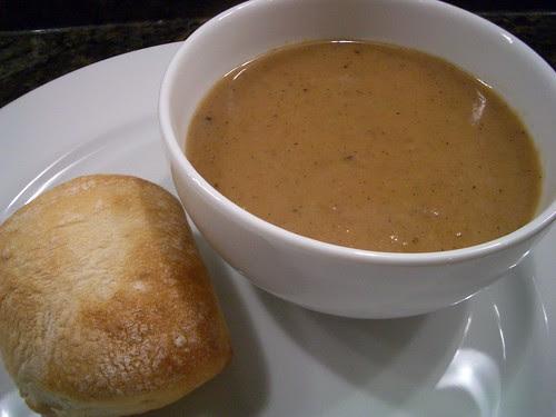 Roasted Potato, Onion & Garlic Soup