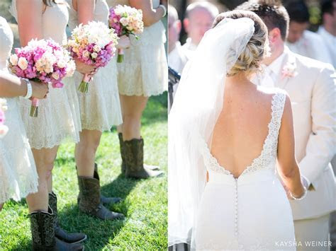 Country Chic Retro Ranch Wedding