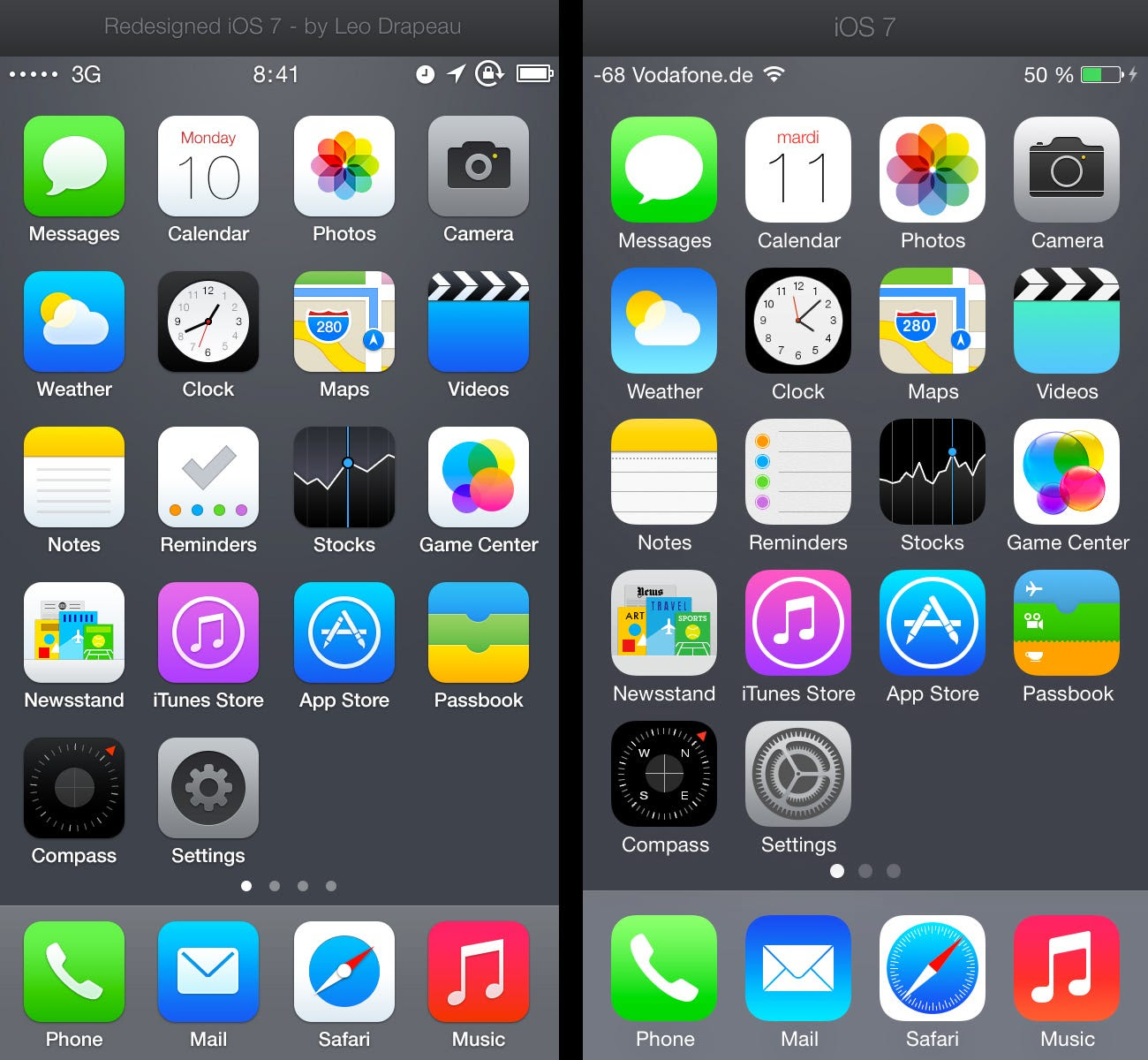 Designer Comes Up With Better iPhone App Icons Business
