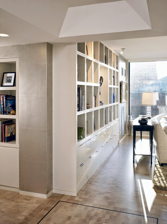 Residence At The Four Seasons Living Room Wall (Boston)