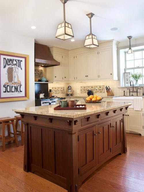 Craftsman Style Kitchens Home Design Ideas, Pictures ...