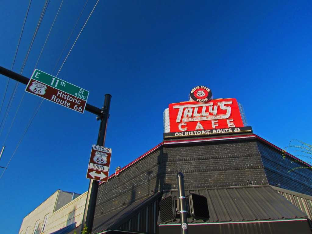 Take The Mother Road To tally's cafe | Our Changing Lives