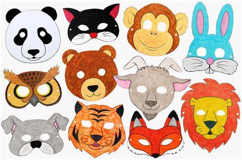 printable animal masks kids crafts fun craft ideas