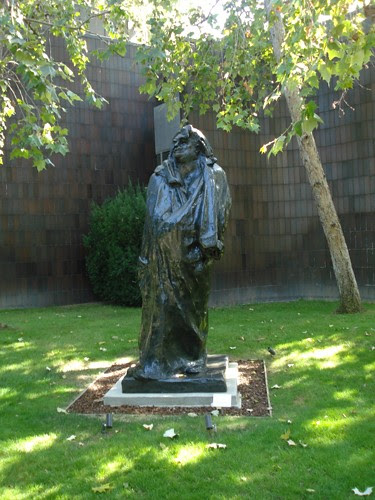 DSCN8817 _ Monument to Balzac, 1897, Auguste Rodin (1840-1917), Norton Simon Museum, July 2013