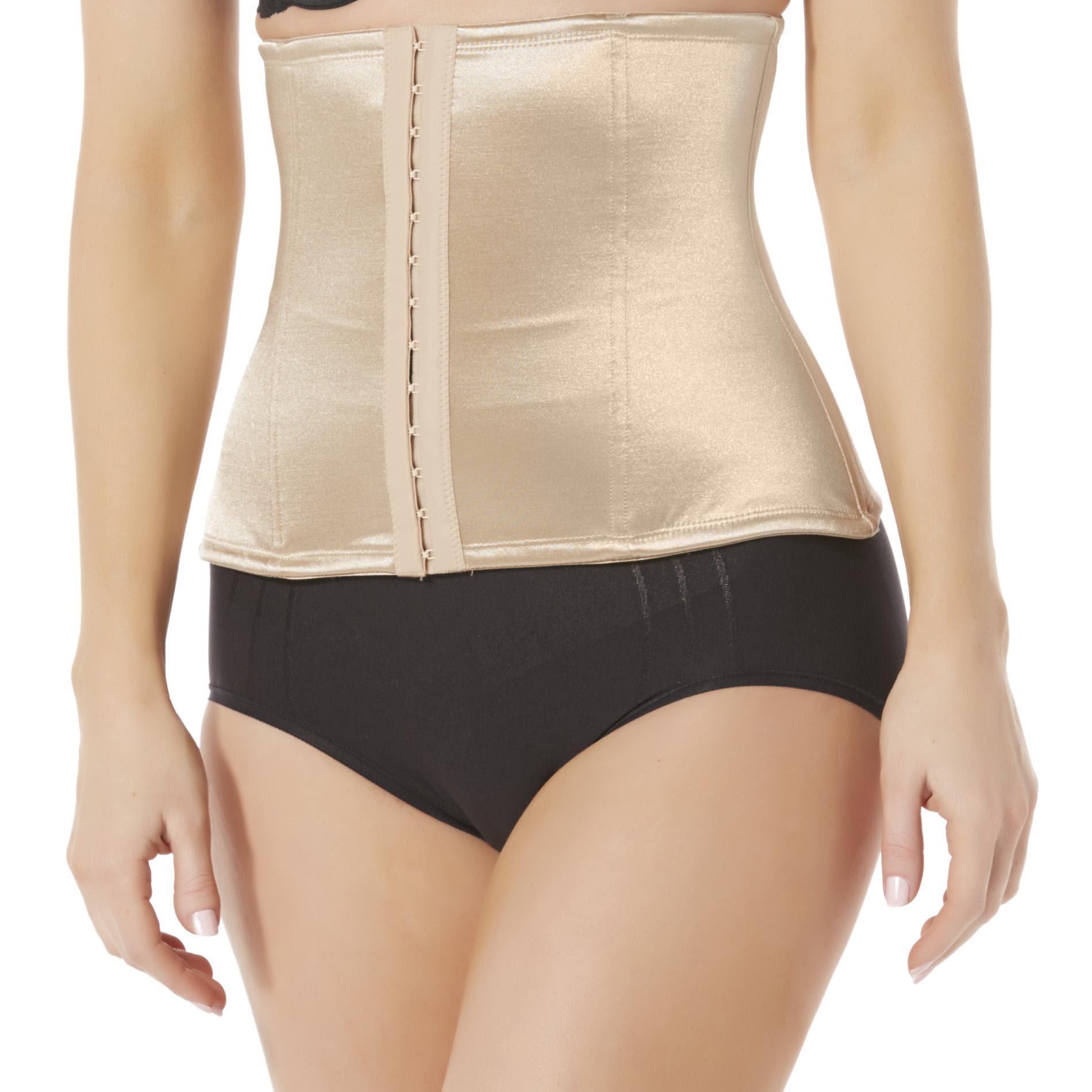 Fundamentals Women's Waist Cincher Body Shaper, Size: Medium