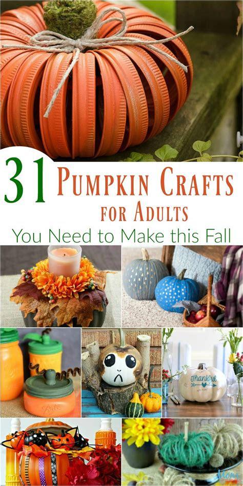 pumpkin crafts  adults      fall