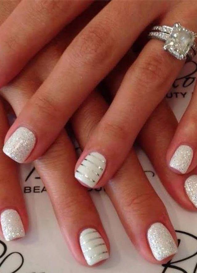7c10ace4b Nail Bridal Nail Art Design 2536100 Weddbook