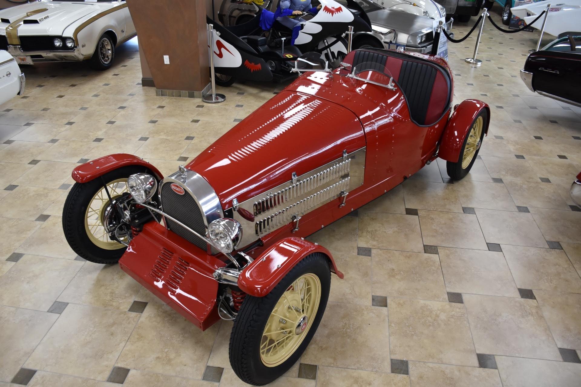 1928 Z Bugatti T35 Boattail Replica 350CI V8 PRIVATE COLLECTION 0 Red 350CI Aut