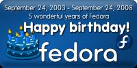 [happy birthday fedora!]