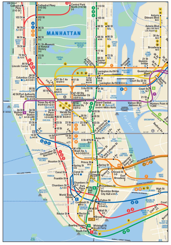 Subway Map 6.Subway Map 6 Train Map North East