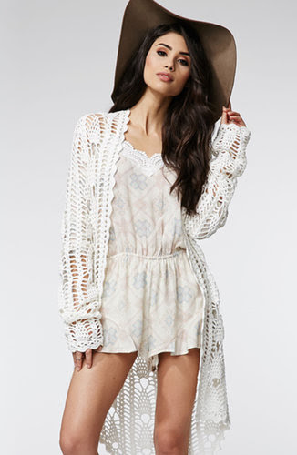 Kendall & Kylie Cold Shoulder Romper ($45)