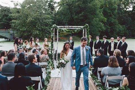 Dana and Ronan Recessional at Prospect Park Boathouse