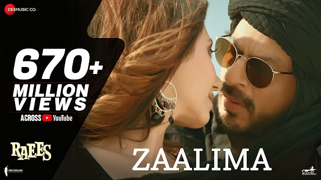 Zaalima Lyrics – Raees - rijit Singh and Harshdeep Kaur Lyrics