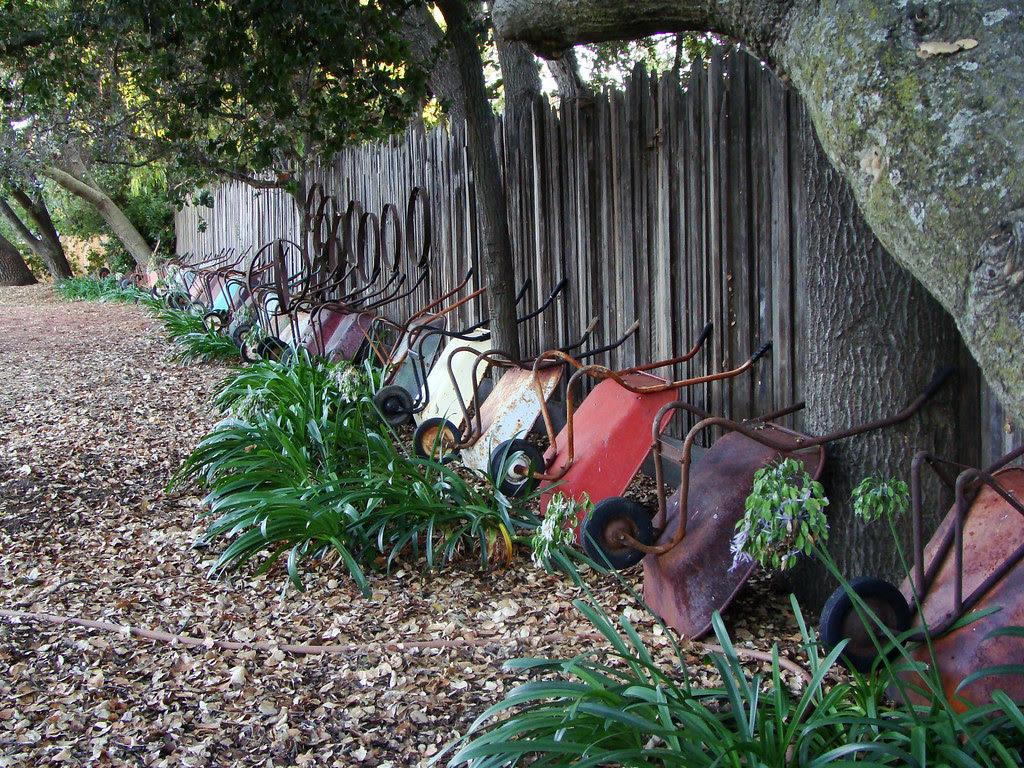 DSC02687 James Witt wheelbarrow collection