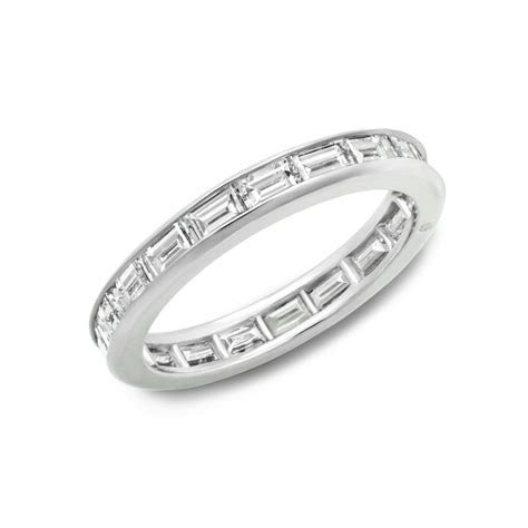 Oscar Heyman Baguette Cut Diamond Eternity Band ? W1095