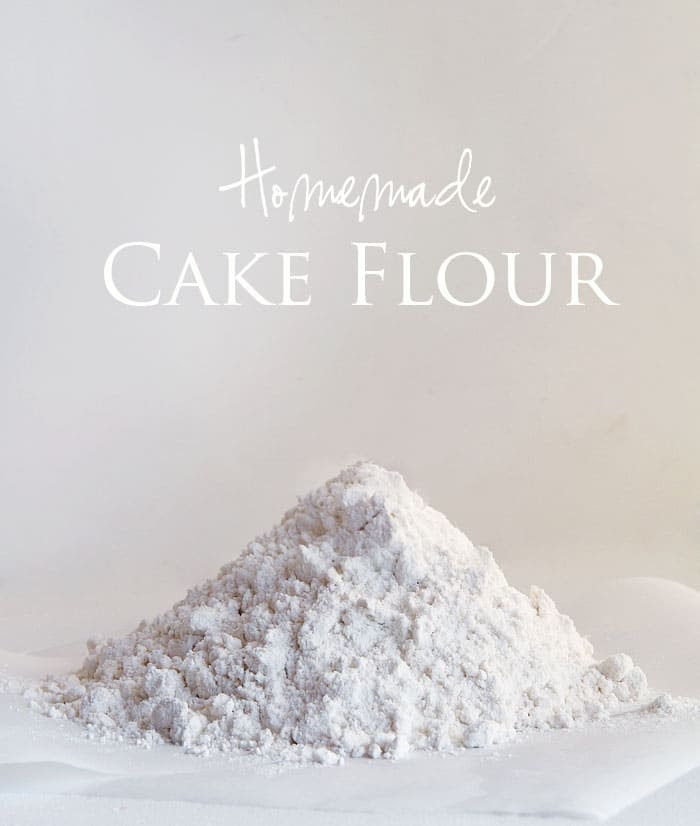 Homemade Cake Flour!  from iambaker.net