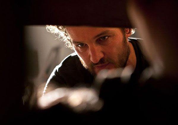 Dan (Jason Clarke) interrogates a detainee at a CIA black site in Pakistan...in ZERO DARK THIRTY.