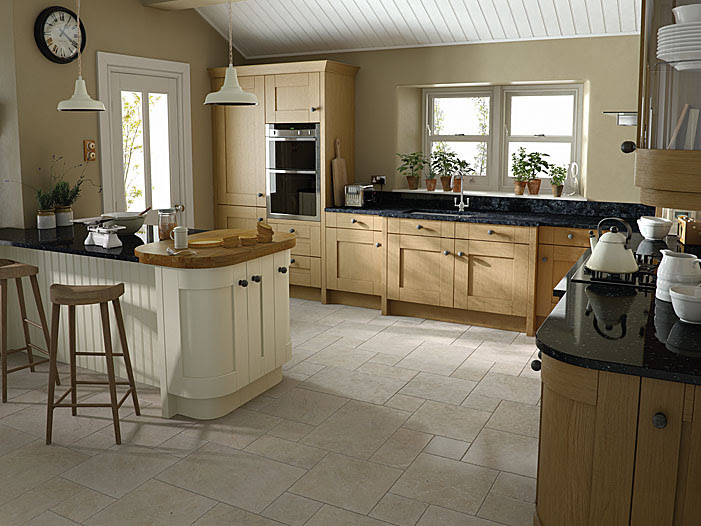 Milbourne Oak - Cheap Kitchens Ireland, Fitted Kitchens ...
