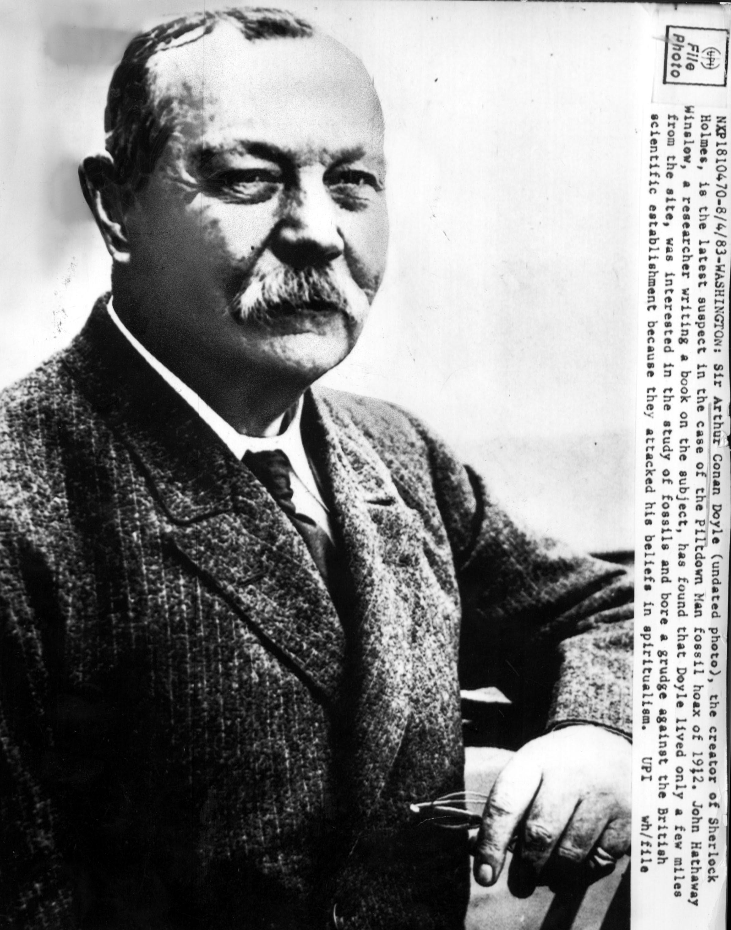 Il creatore di Sherlock Holmes Arthur Conan Doyle