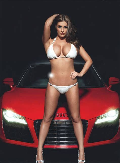 Lucy Pinder hot audi R8 #cars #babes #bikini #body #curves #sexy #women #photography Girls