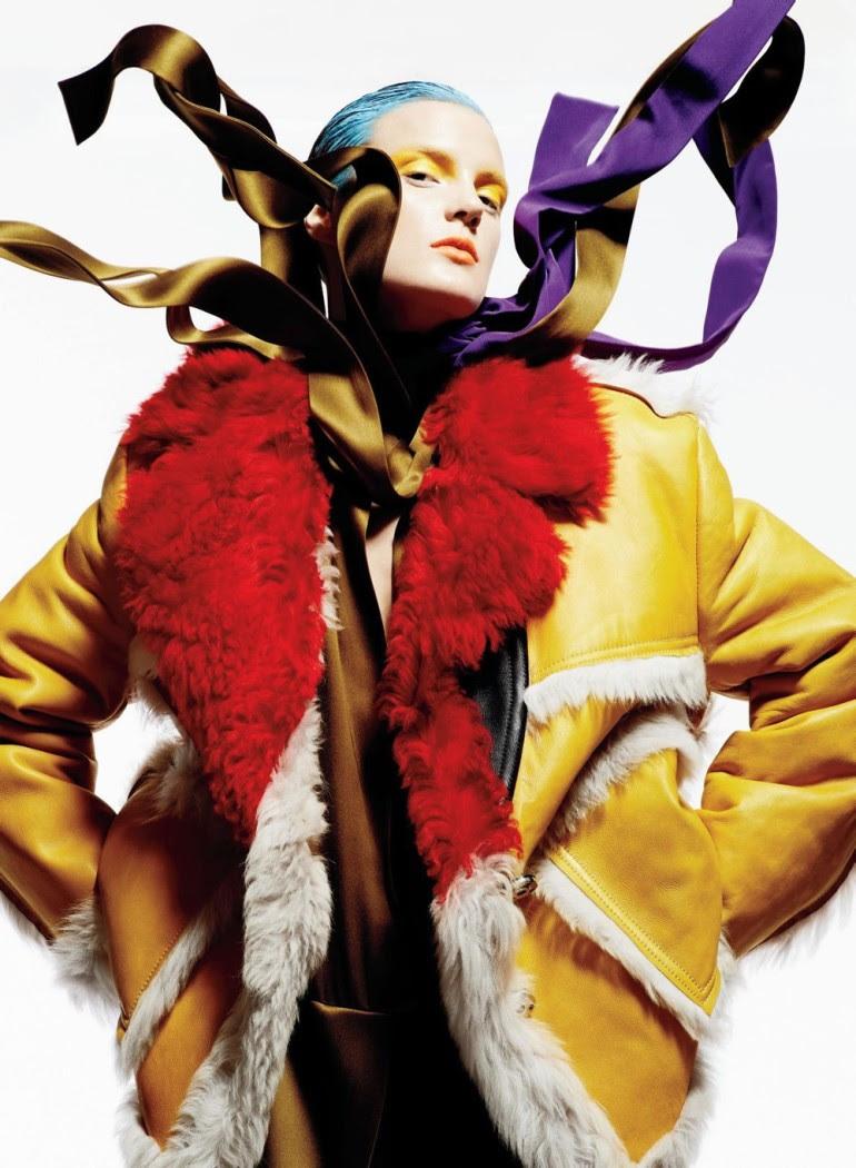 Ashtyn Franklin 'Flashdance' By Moo For Elle Canada 7