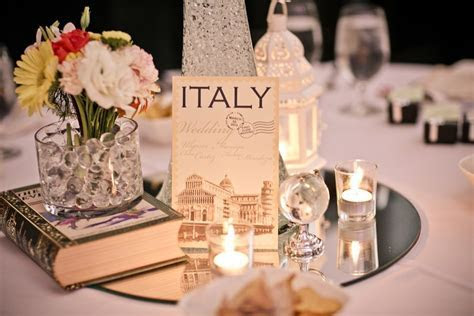 Yul and Iya's Vintage Travel Themed Wedding   Decor and