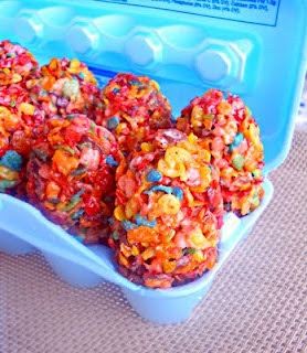 Cereal Treat Easter Eggs