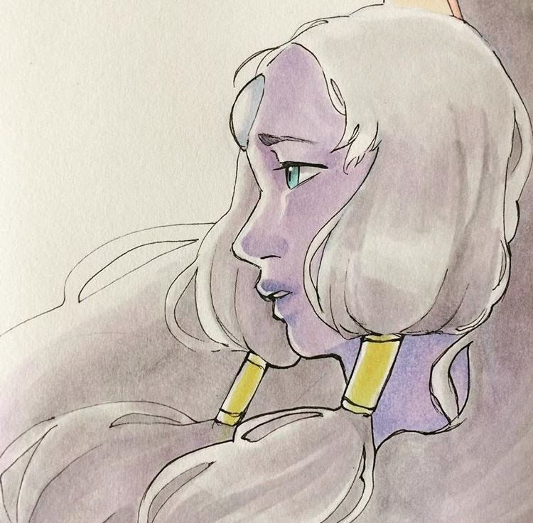 Here's some of my traditional art~ I really love Opal