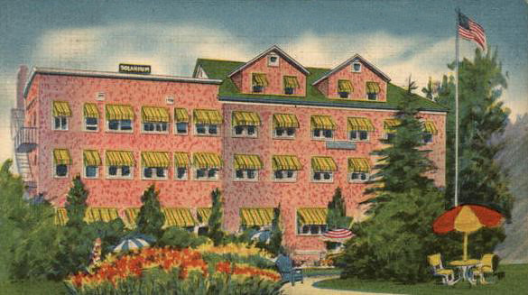 That Other 70's Hotel Post Card
