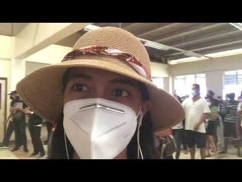 Gina Juarez gracefully narrates her Covid-19 vaccination experience in Iloilo City
