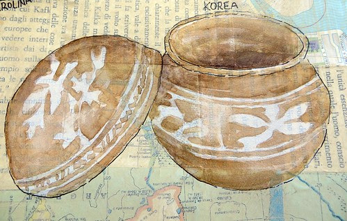 from my sketchbook ~ bowls