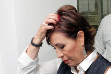 Rosario Robles, titular de la Sedesol. Foto: Víctor Hugo Rojas