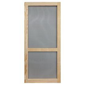 Screen Tight�Woodcraft 32-in Natural Wood Screen Door